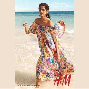H&M Off-Shoulders Midi Dress